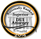 Superior DUI Attorney 2014 Seal